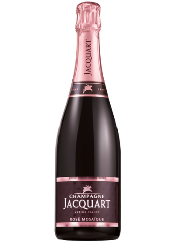 JACQUART MOSAIQUE BRUT ROSE CHAMPAGNE 0,75L